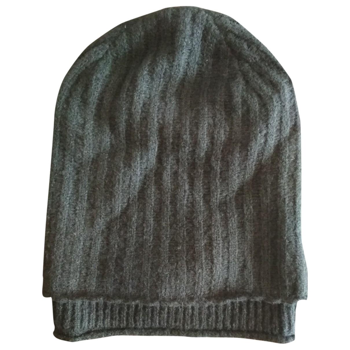Helmut Lang - Chapeau & Bonnets   pour homme en laine - noir