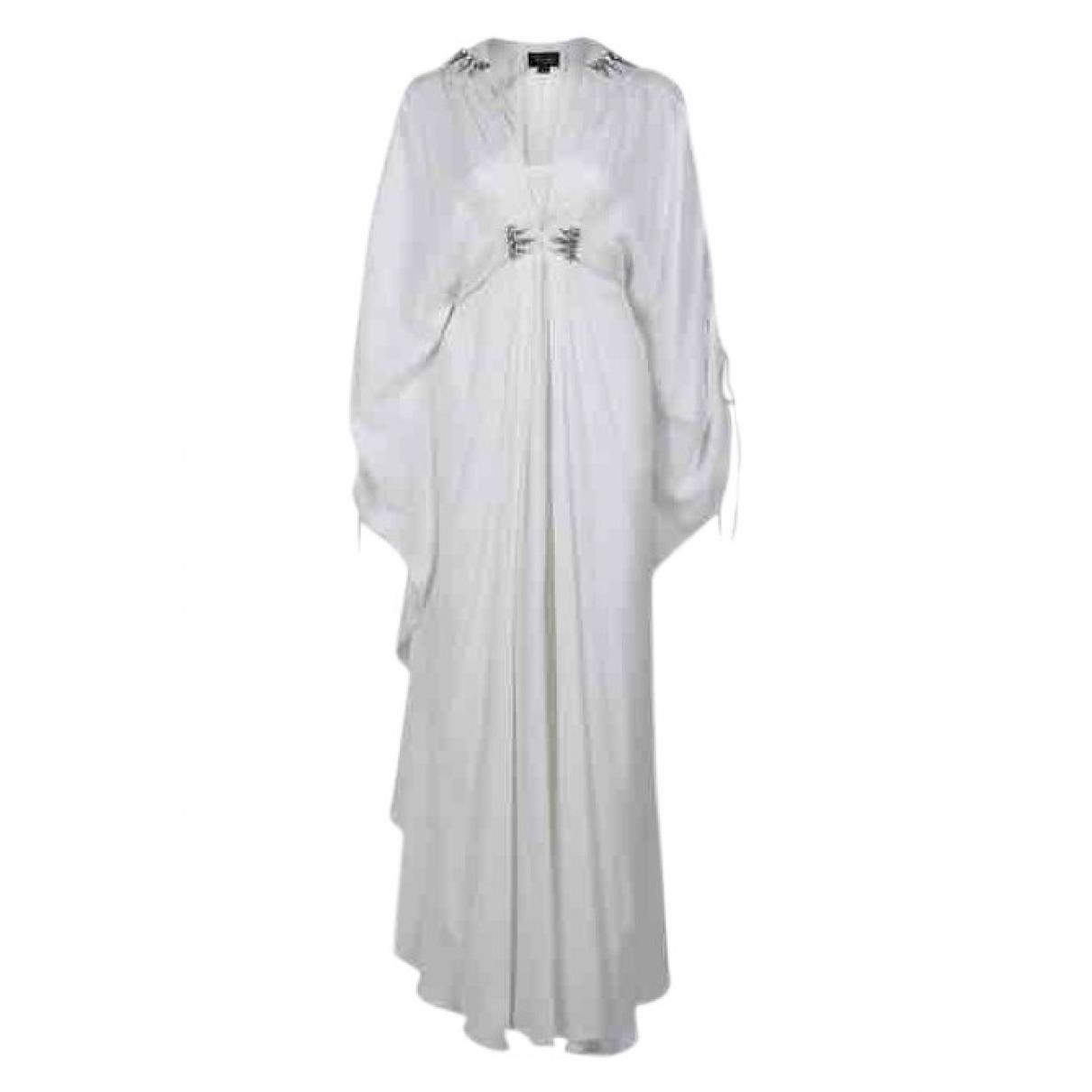 Temperley London \N Kleid in  Weiss Seide