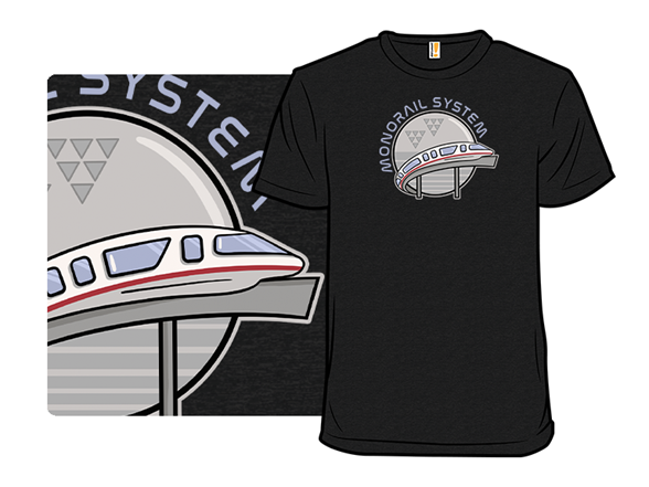 Monorail System T Shirt
