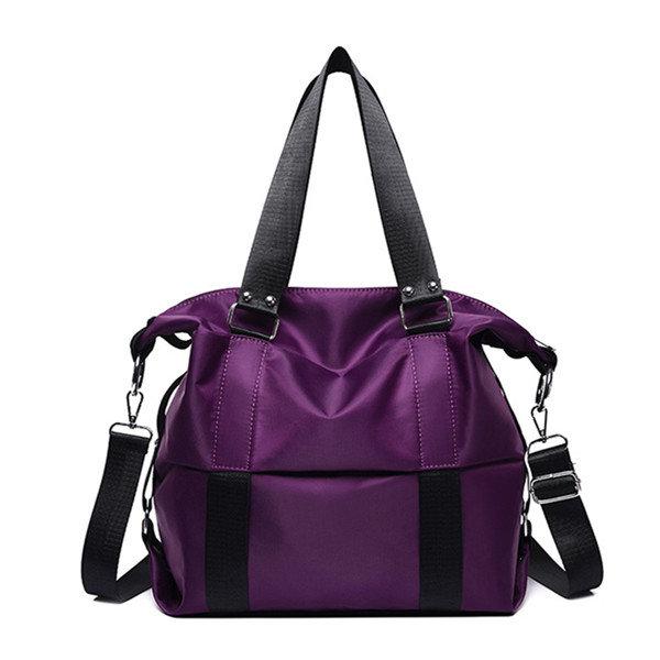 Women Large Capacity Handbag Tote Bag Light Weight OxfordShoulder Bag