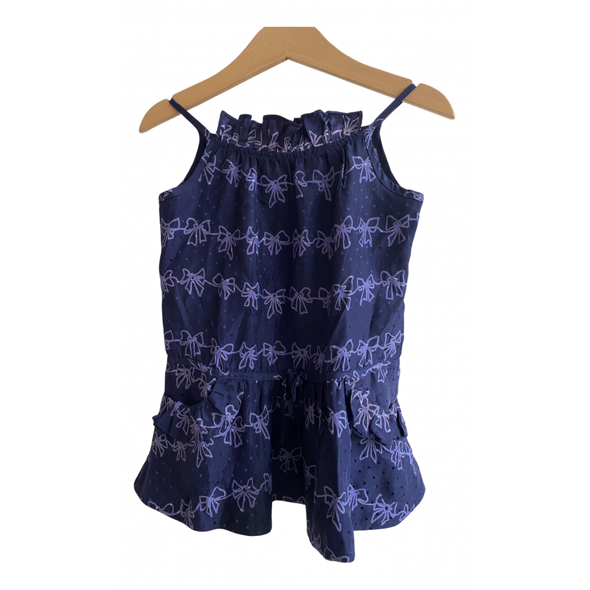 Little Marc Jacobs \N Kleid in  Blau Seide