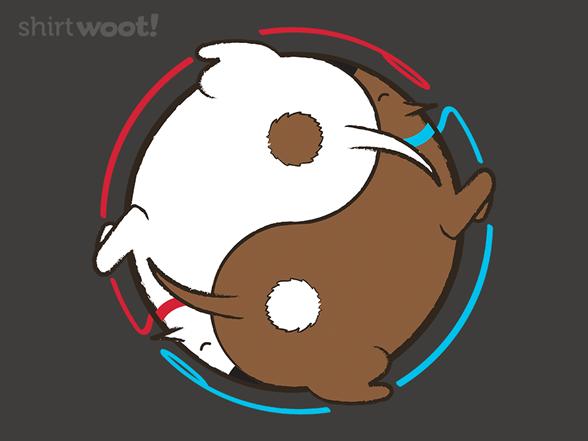 Yin Meets Yang T Shirt