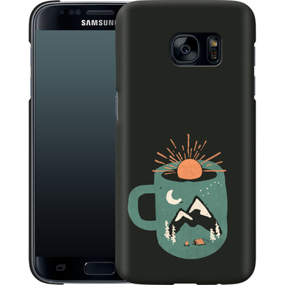 Samsung Galaxy S7 Smartphone Huelle - Mountain Morning Wakeup von ND Tank