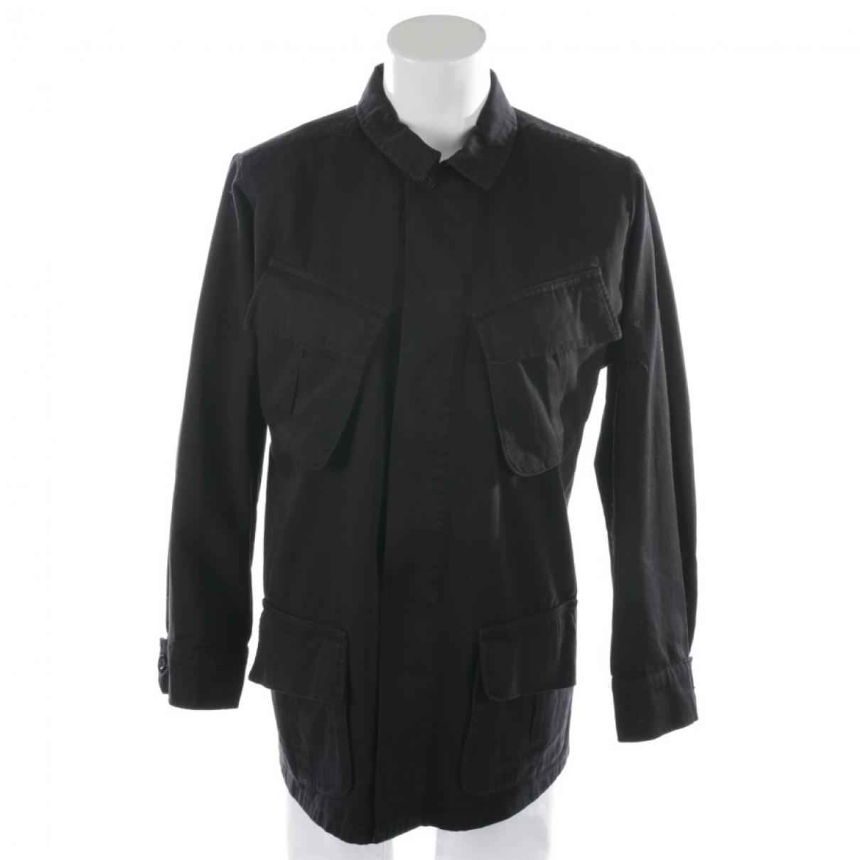Anine Bing - Top   pour femme en coton - noir