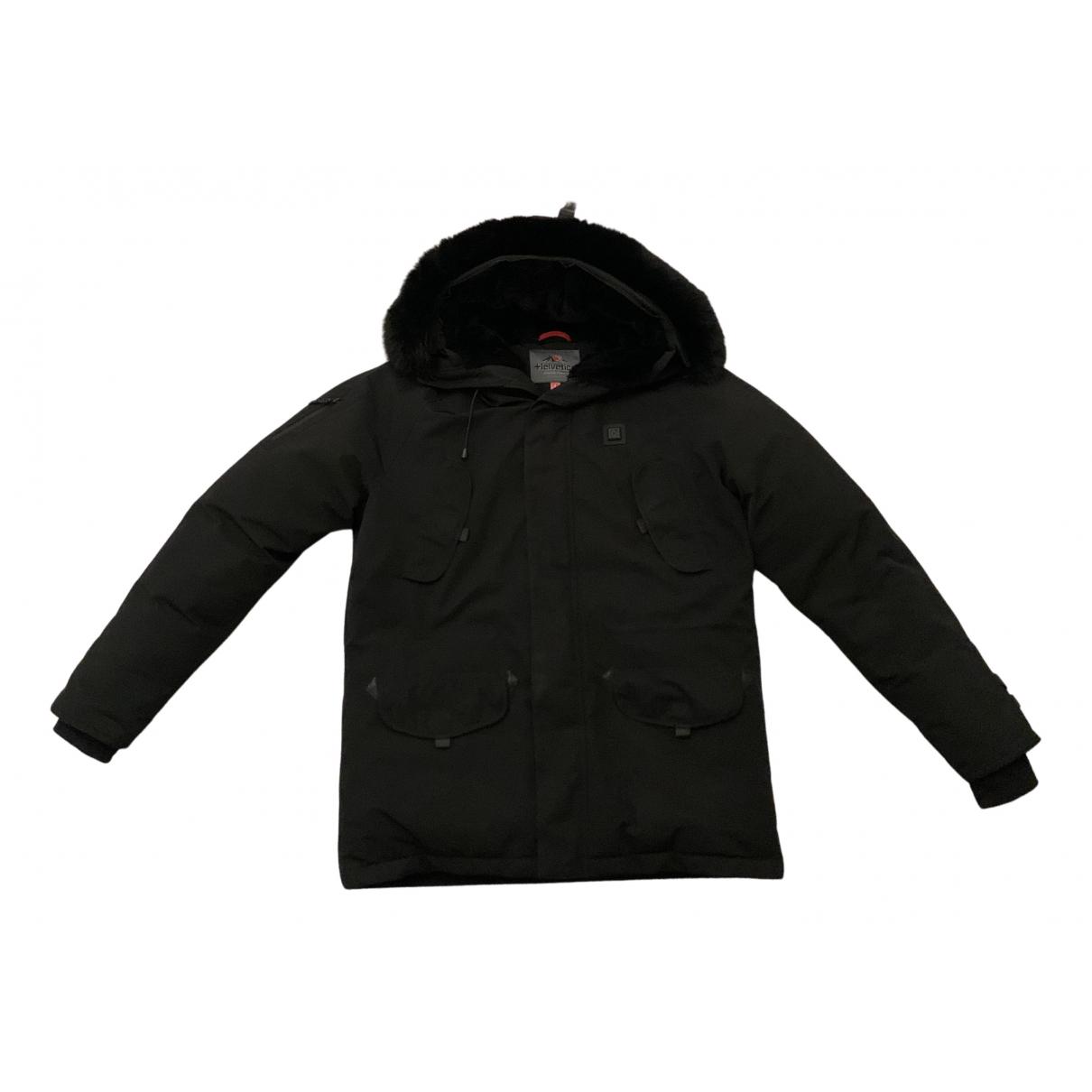 Helvetica - Manteau   pour homme - noir