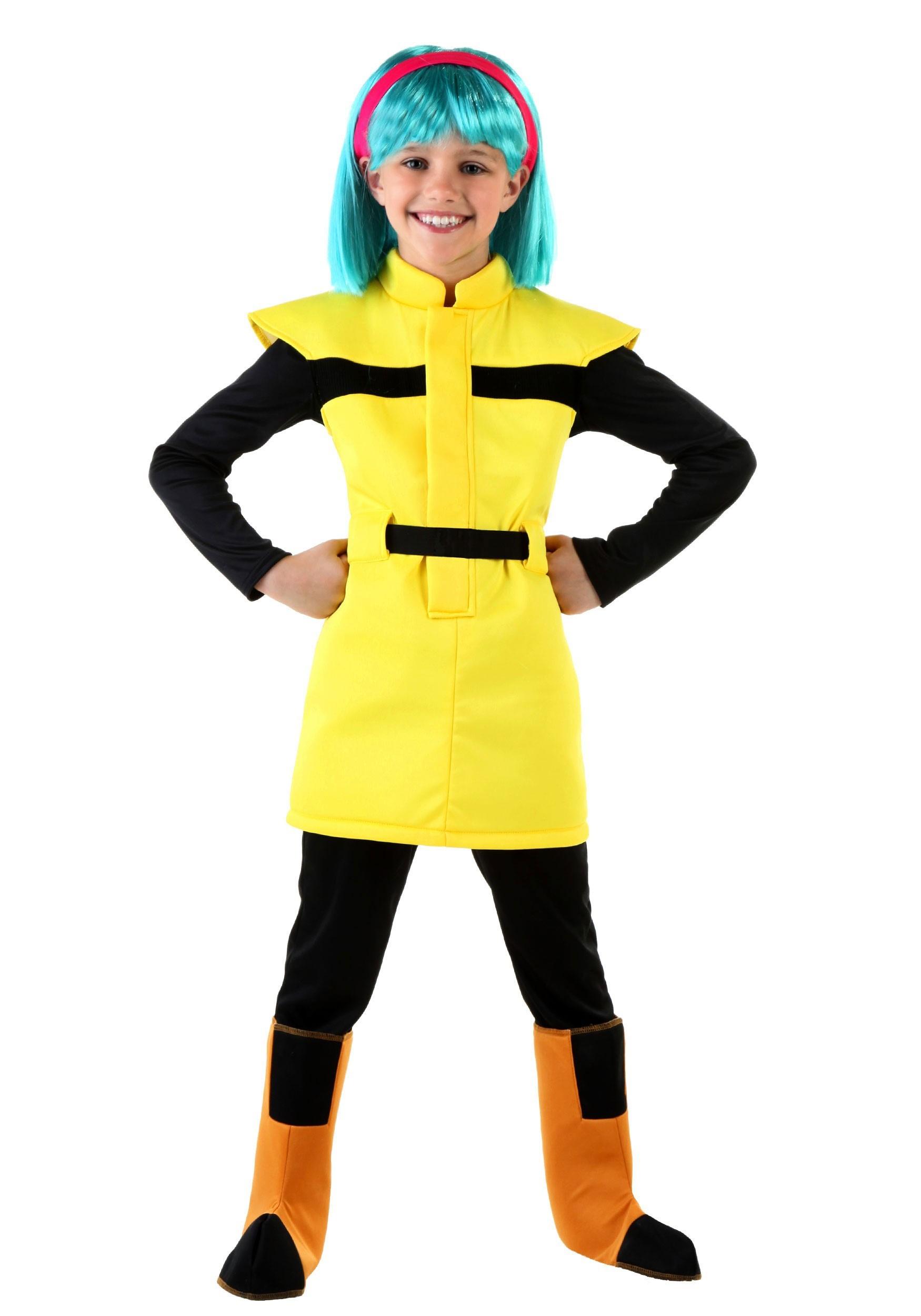 Dragon Ball Z Child Bulma Costume