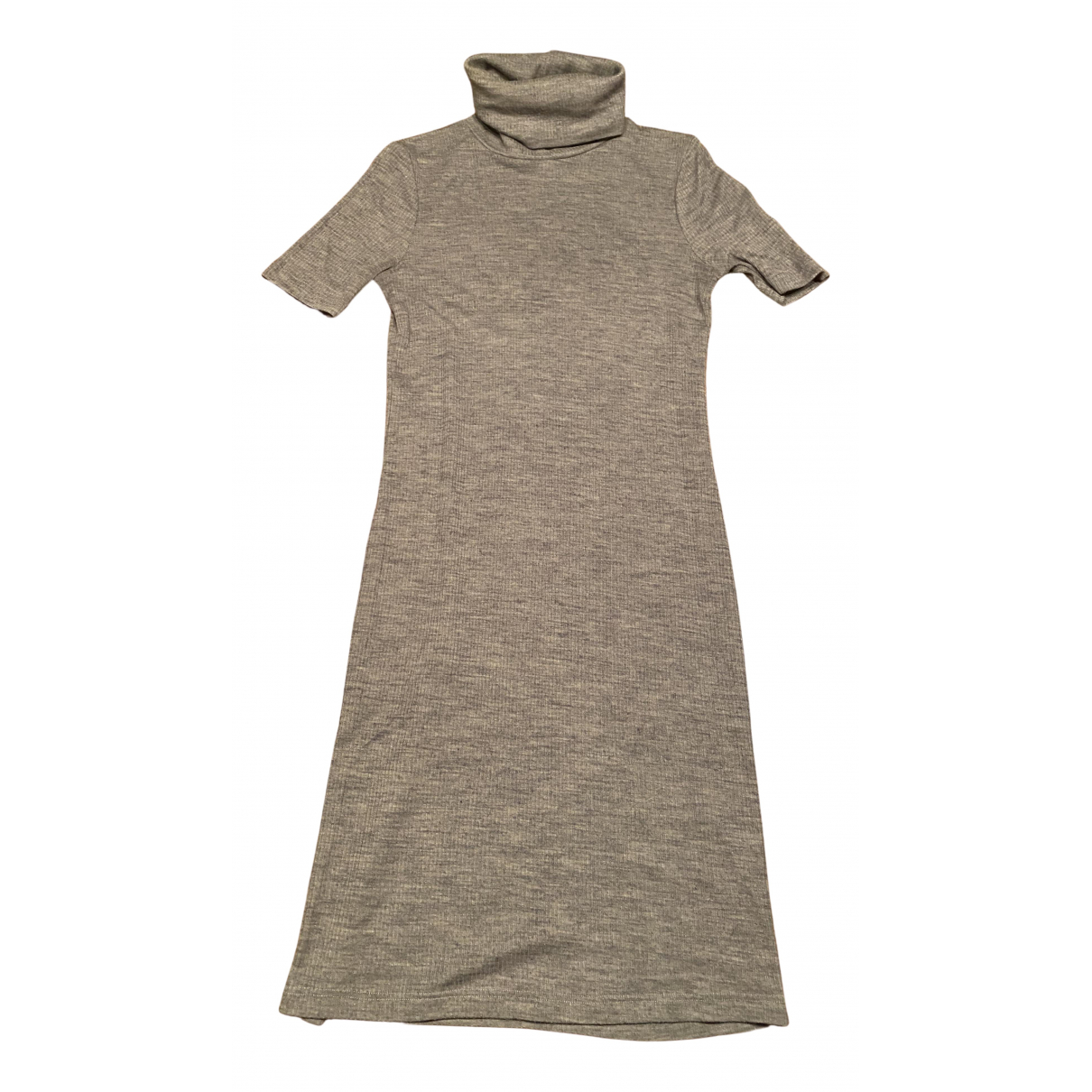 Patrizia Pepe \N Kleid in  Grau Wolle