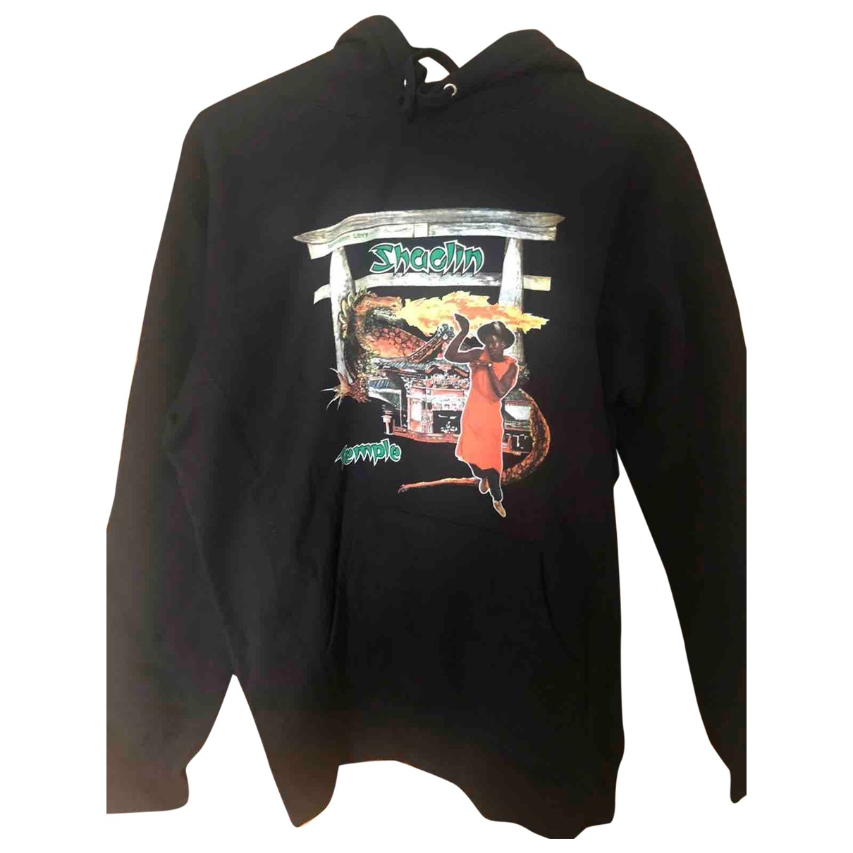 Supreme \N Black Cotton Knitwear & Sweatshirts for Men M International