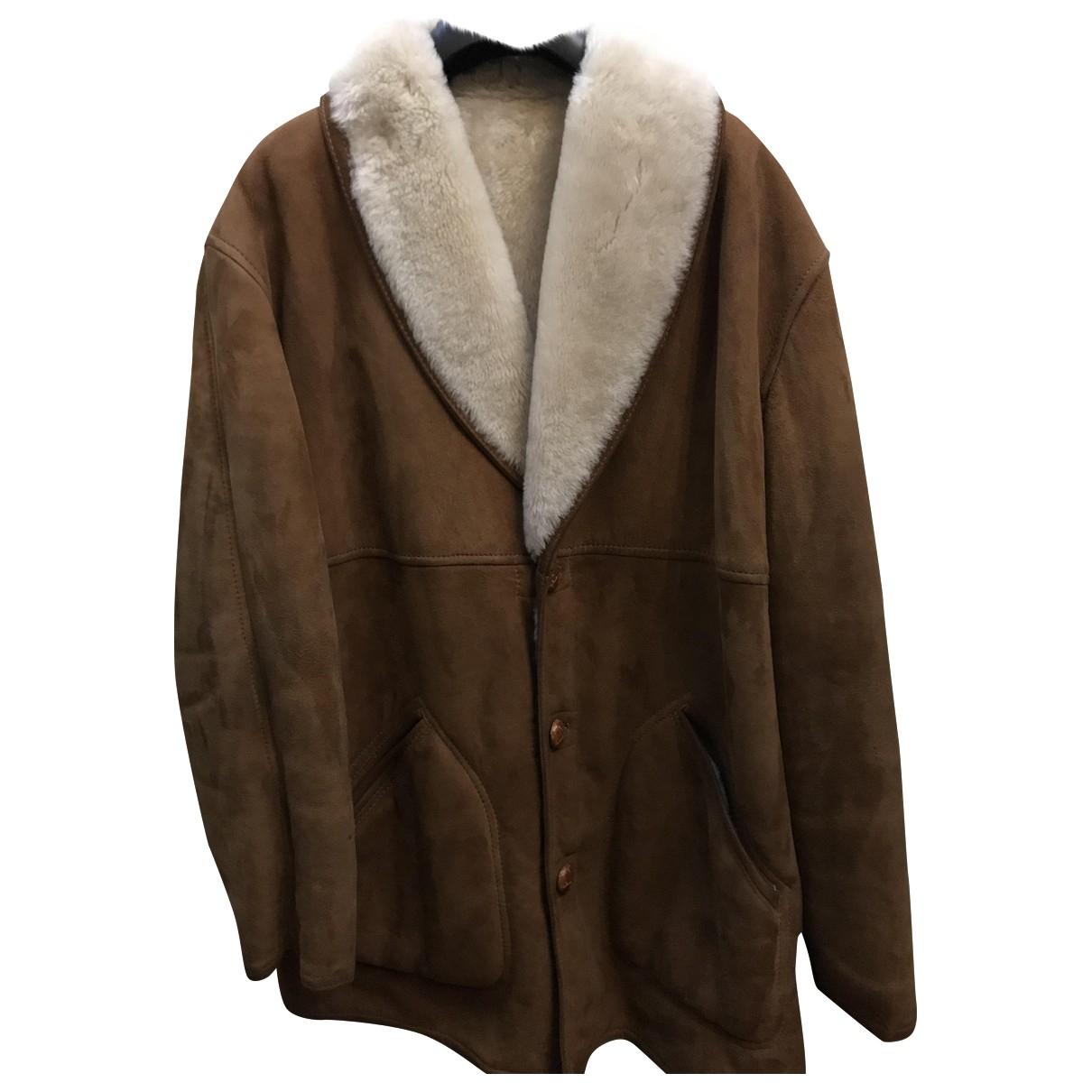 Burberry N Brown Shearling coat  for Men 54 IT