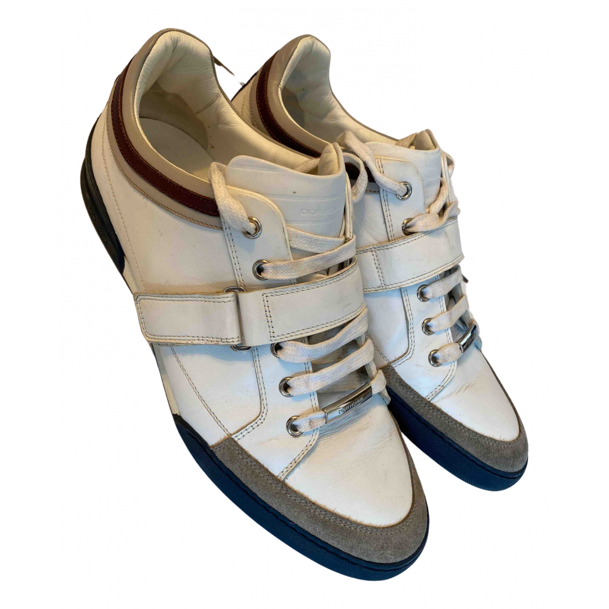 Dior Homme \N Leather Trainers for Men 41 EU