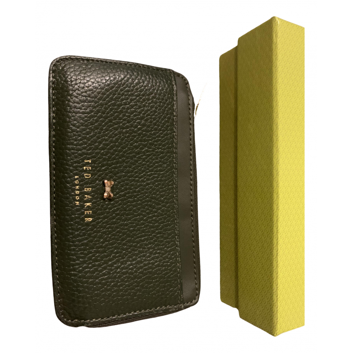Ted Baker \N Green Leather wallet for Women \N