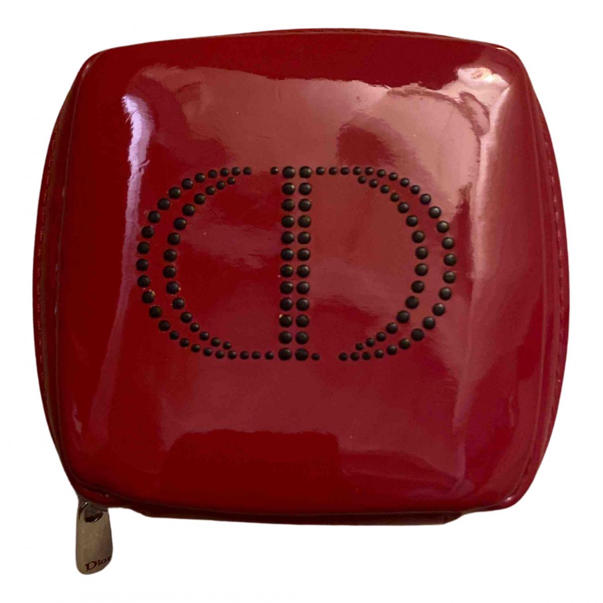Dior - Petite maroquinerie   pour femme - rouge