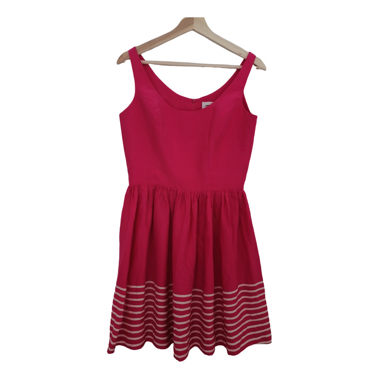 Non Signé / Unsigned \N Pink Silk dress for Women S International