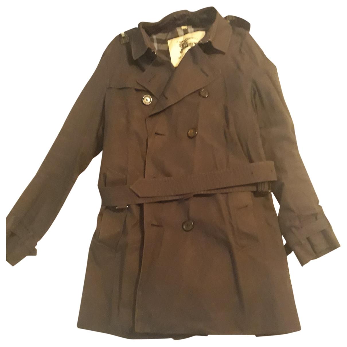 Burberry \N Navy Cotton coat  for Men L International