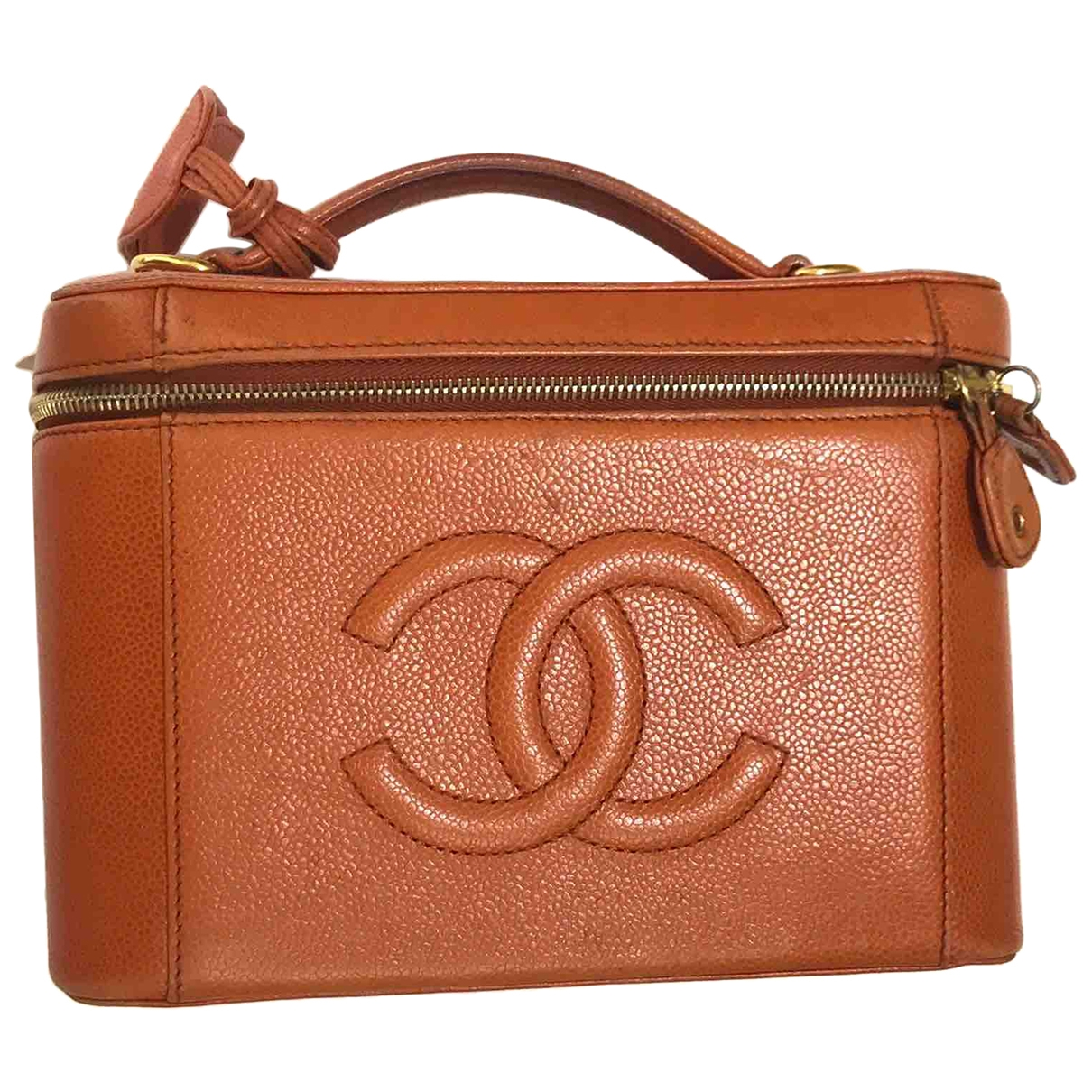 Chanel \N Orange Leather handbag for Women \N