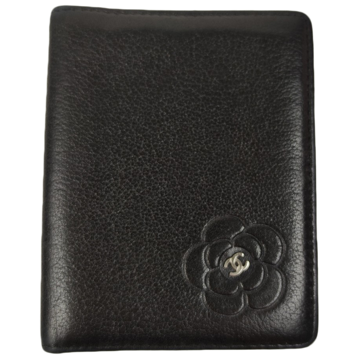 Chanel \N Black Leather Purses, wallet & cases for Women \N