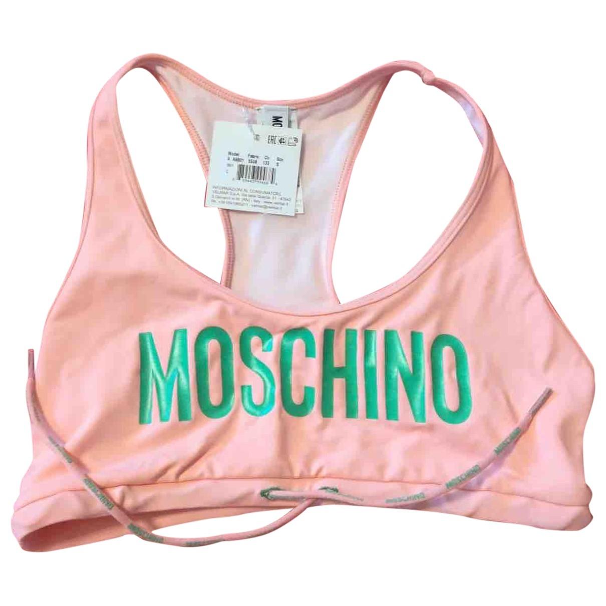 Moschino \N Badeanzug in  Rosa Lycra