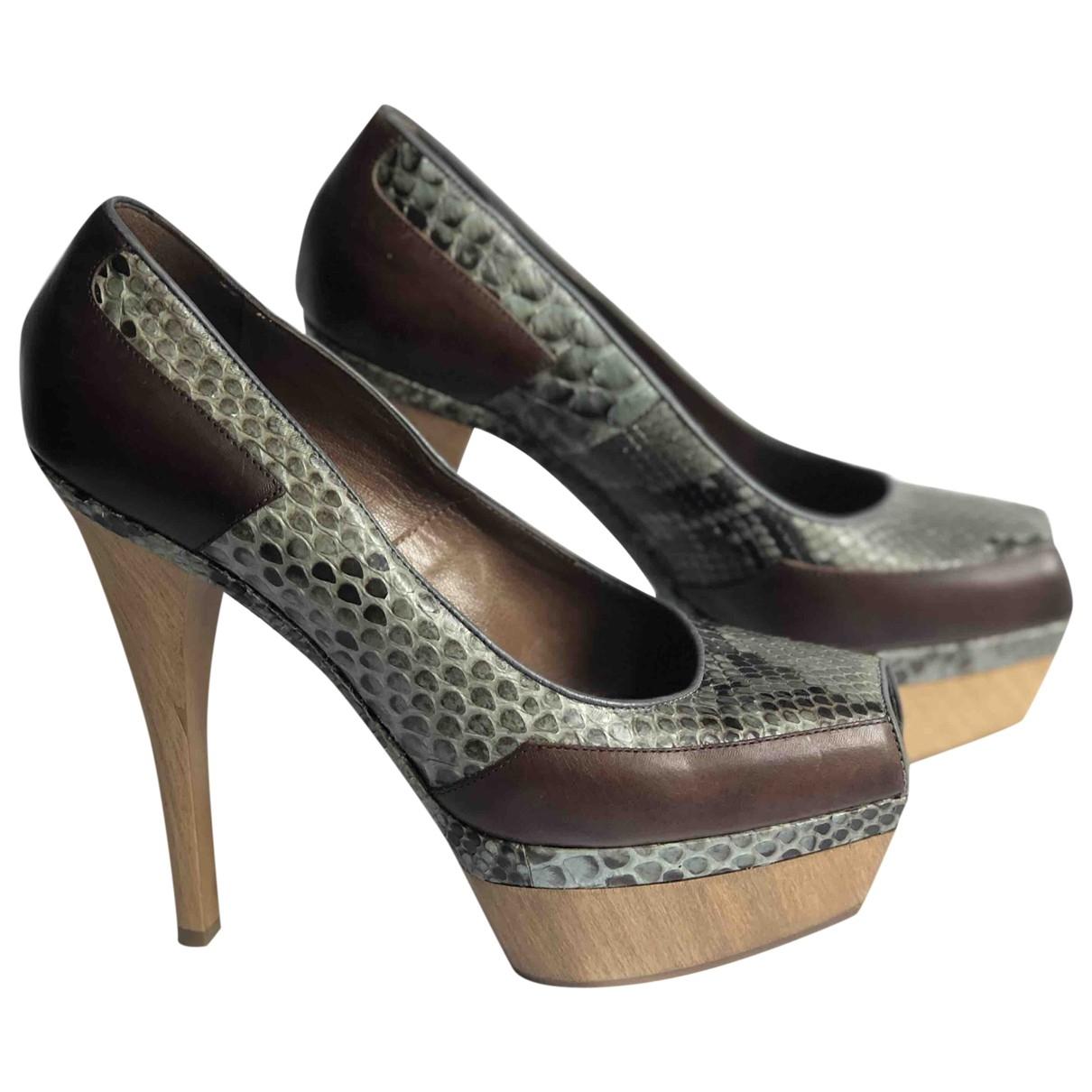Marni \N Multicolour Leather Heels for Women 38 EU