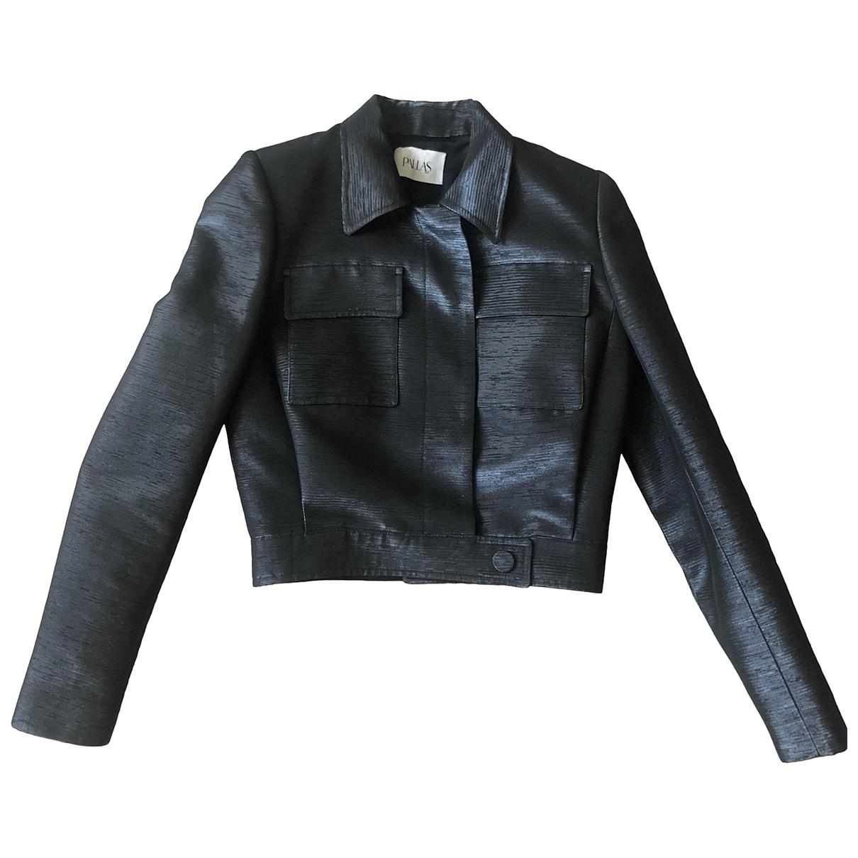 Pallas \N Navy Cotton jacket for Women 36 FR