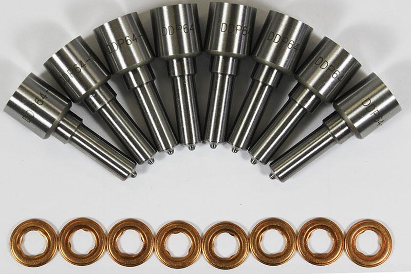 Dynomite Diesel DDP 64-615NZ Ford 6.4L 08-10 Nozzle Set 15 Percent Over