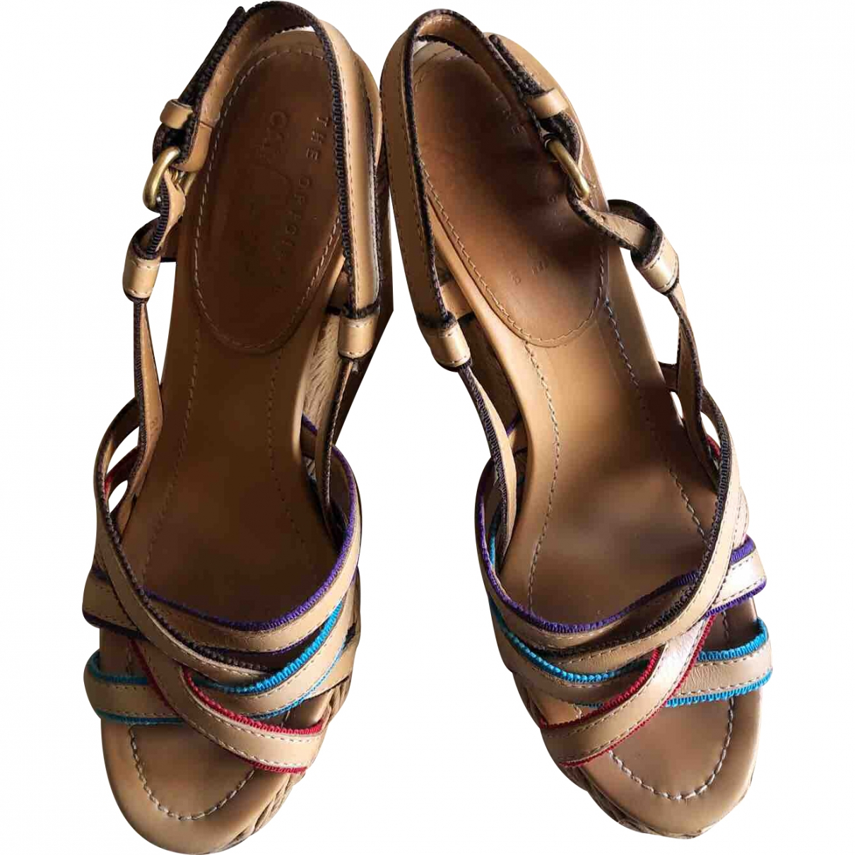 Carshoe \N Leather Sandals for Women 39 EU