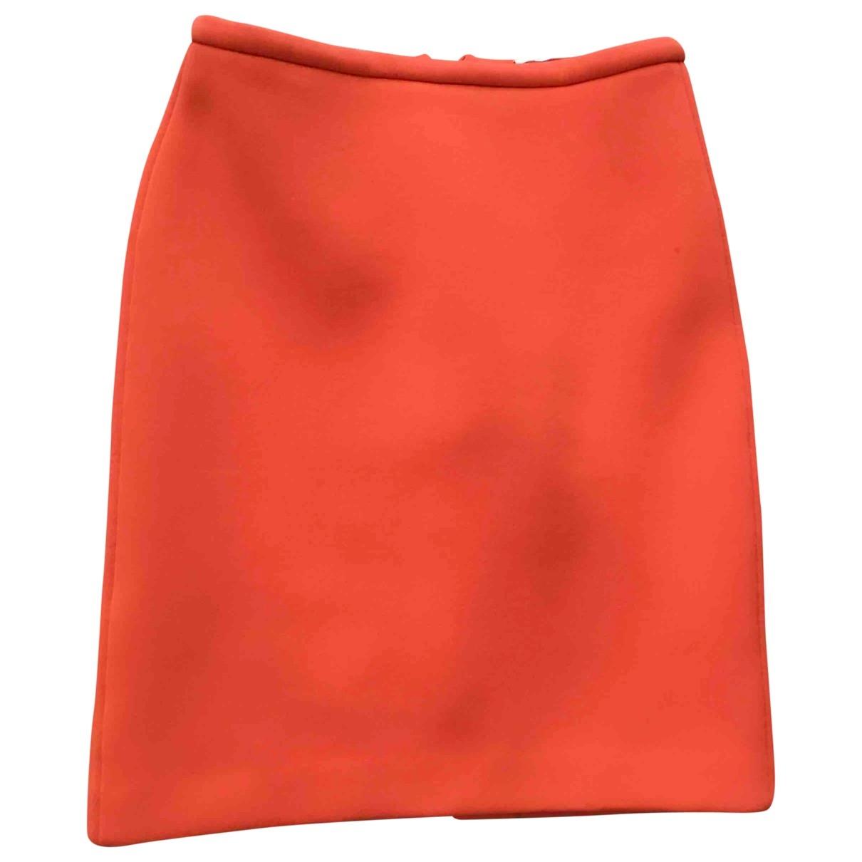 Bimba Y Lola - Jupe   pour femme en coton - elasthane - orange