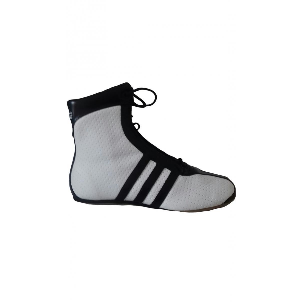 Adidas \N White Glitter Trainers for Women 40 EU