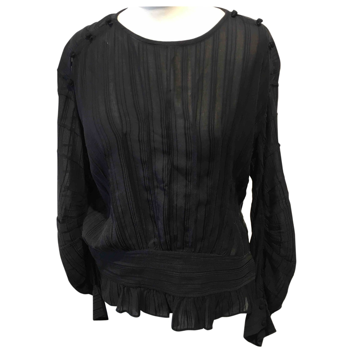 Isabel Marant Etoile - Top   pour femme en coton - noir