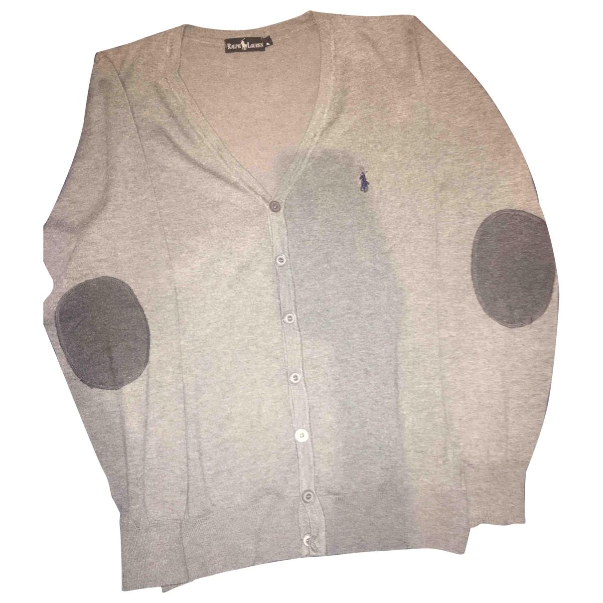 Ralph Lauren \N Pullover.Westen.Sweatshirts  in  Grau Wolle