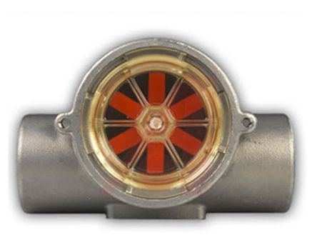 Gems Sensors RotorFlow Flow Indicator, 0.1 gal/min → 5 gal/min, RFI Series