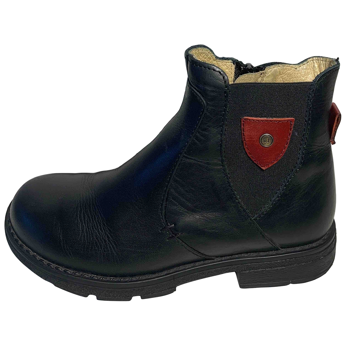 Jacadi \N Blue Leather Boots for Kids 31 EU