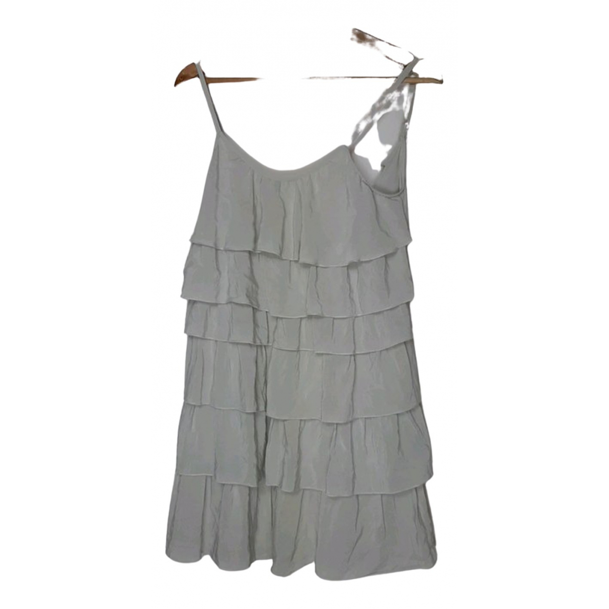 Les Petites \N Grey Silk dress for Women 36 FR