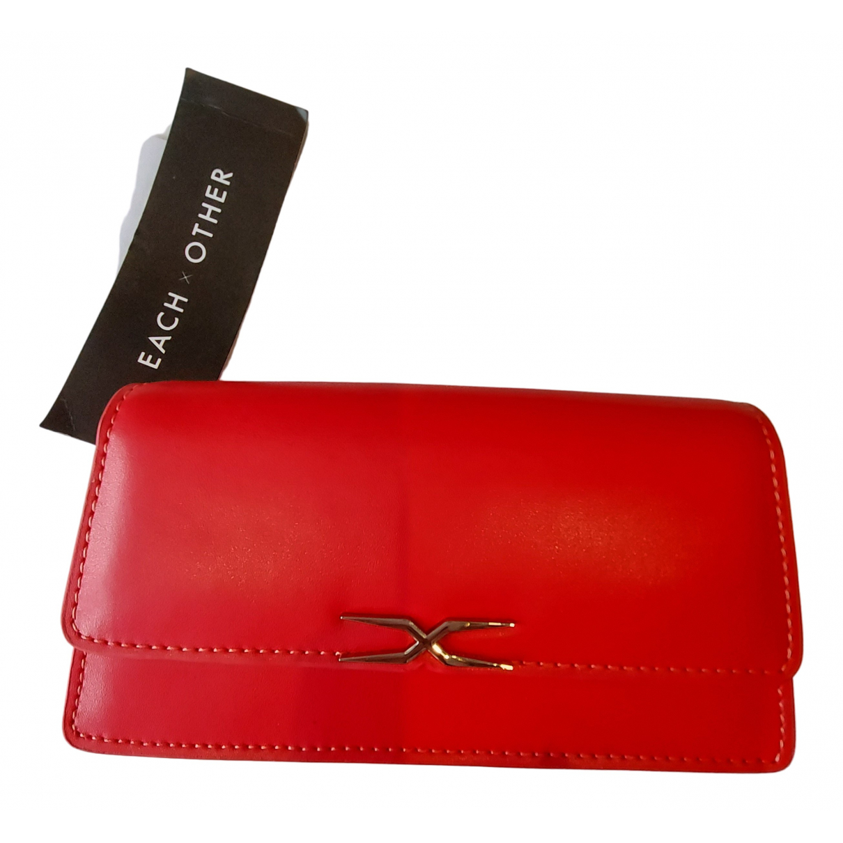 Each X Other - Sac a main   pour femme en cuir - rouge