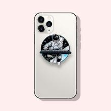 Astronaut Print Phone Holder