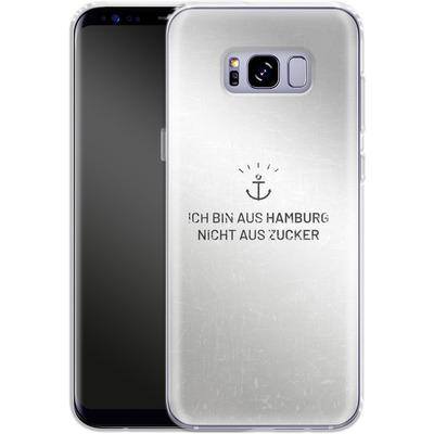 Samsung Galaxy S8 Plus Silikon Handyhuelle - Ich Bin Aus Hamburg von caseable Designs