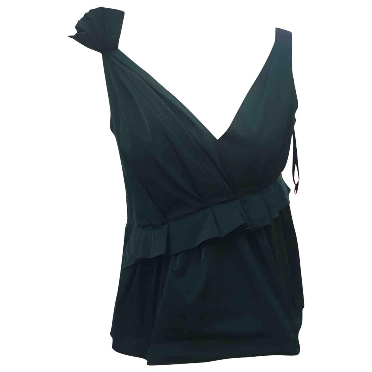 Nina Ricci \N Top in  Gruen Polyester