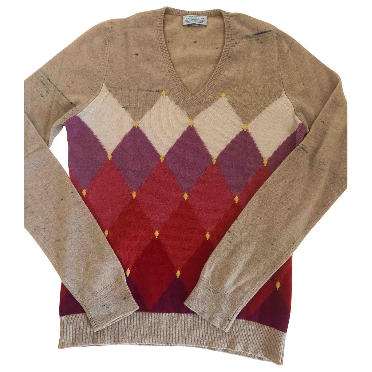 Ballantyne \N Beige Cashmere Knitwear for Women 36 FR