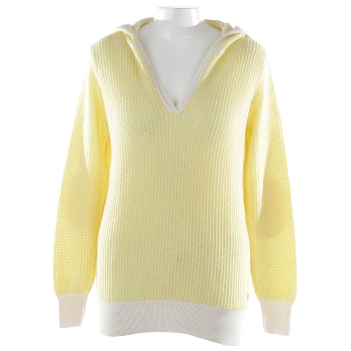 Loro Piana \N Yellow Cashmere Knitwear for Women 40 FR