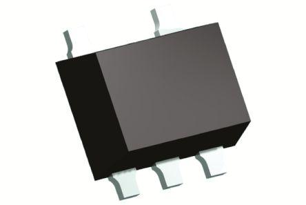 Panasonic , DMA561000R, Dual PNP Digital Transistor, 100 mA 50 V 47 kΩ, Ratio Of None, 5-Pin SMini5 (20)