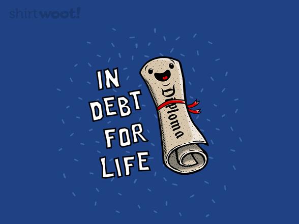 Debt Row T Shirt