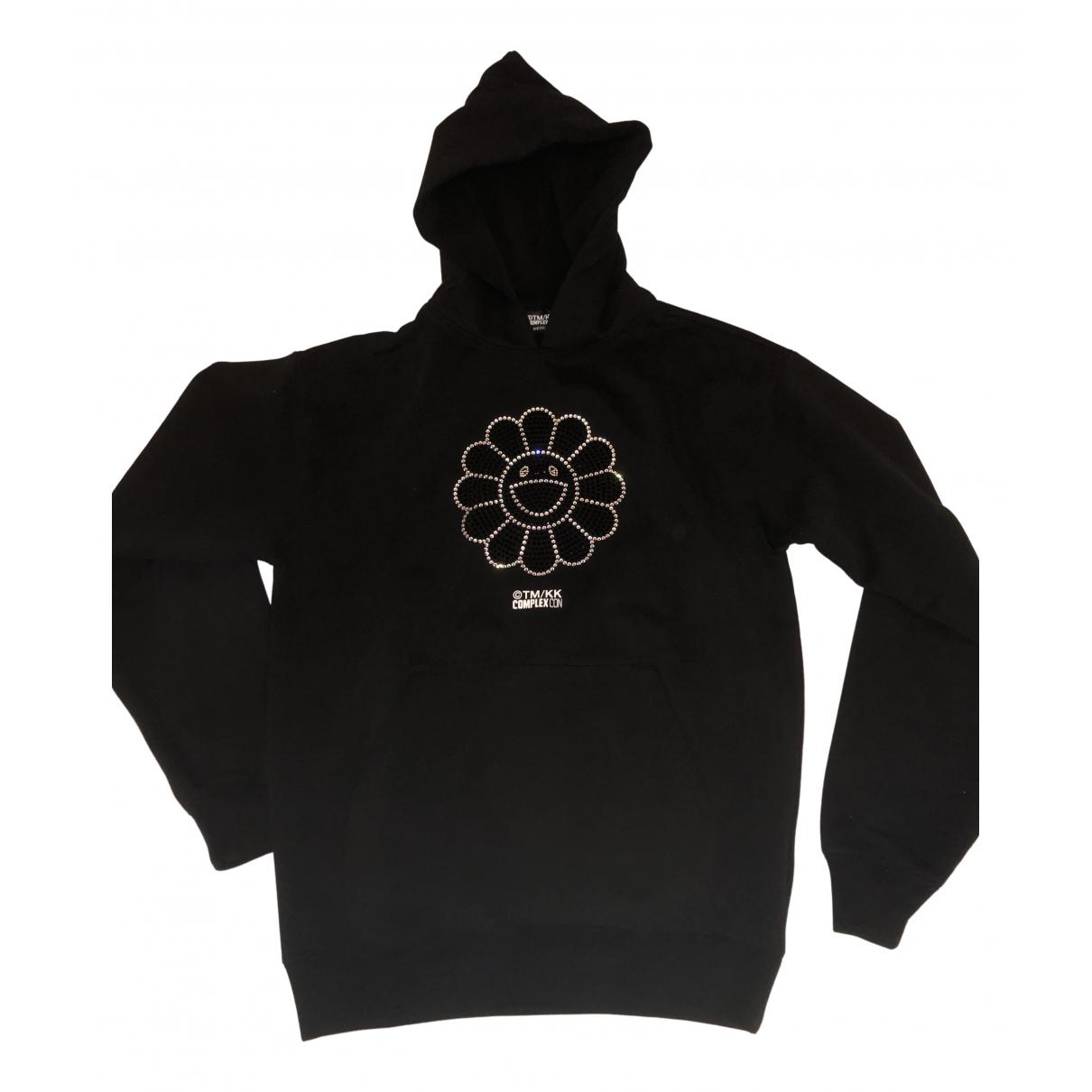 Takashi Murakami \N Pullover.Westen.Sweatshirts  in  Schwarz Baumwolle
