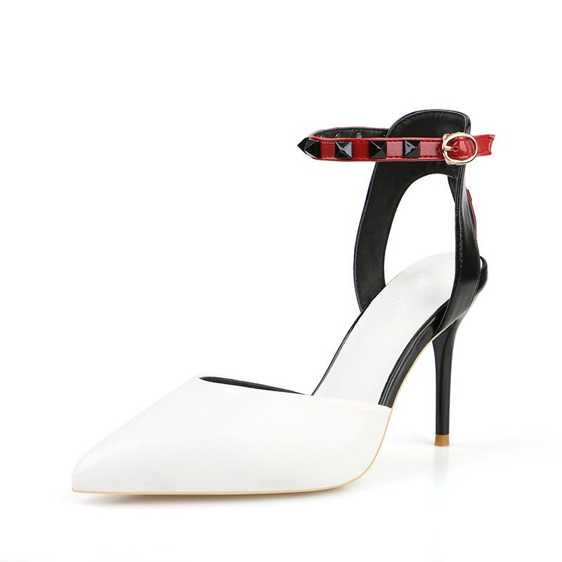 Ericdress Pointed Toe Stiletto Heel Line-Style Buckle Sexy Pumps