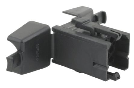 Souriau , SMS Male Connector Housing, 9 Way, 3 Row (5)