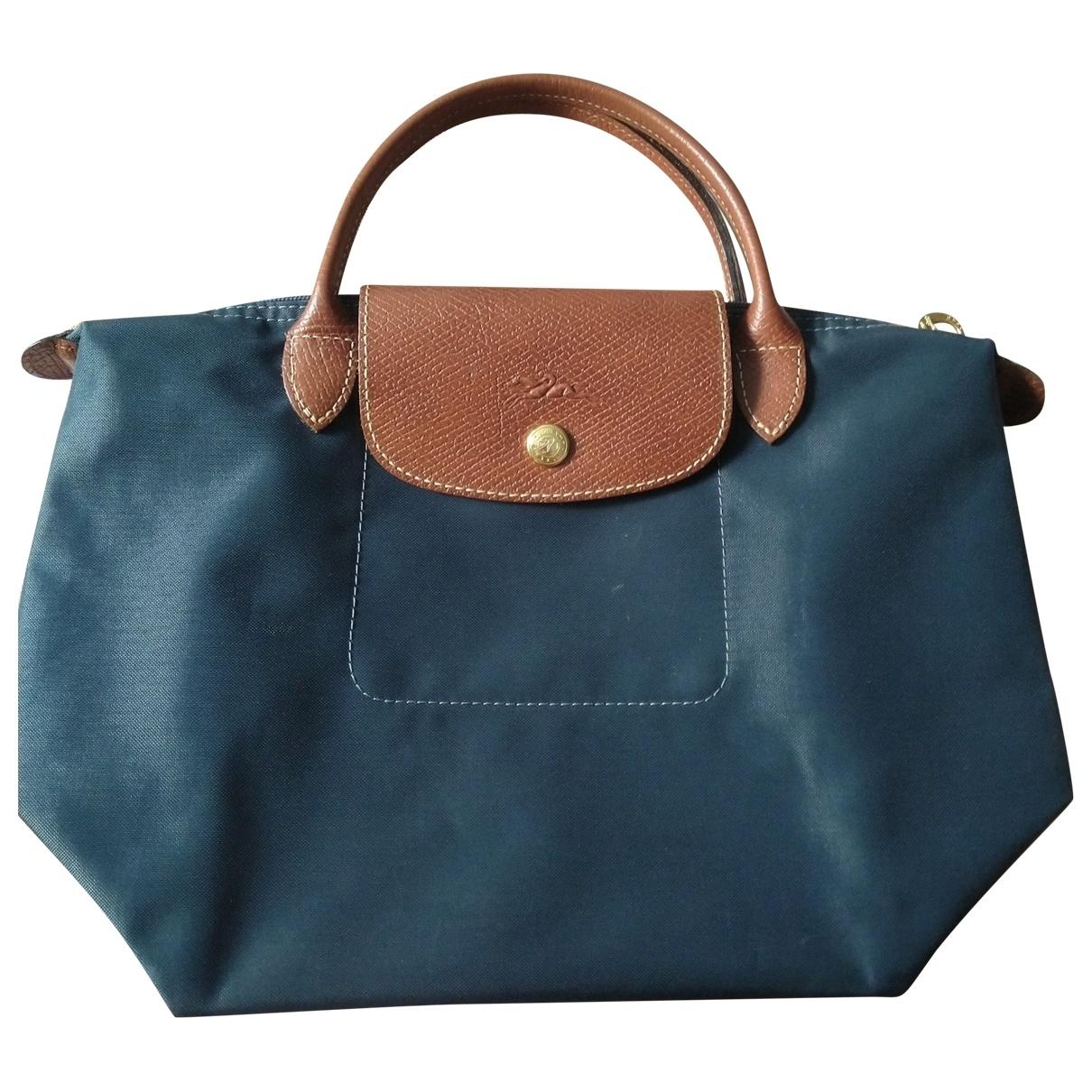 Longchamp Pliage  Grey handbag for Women \N