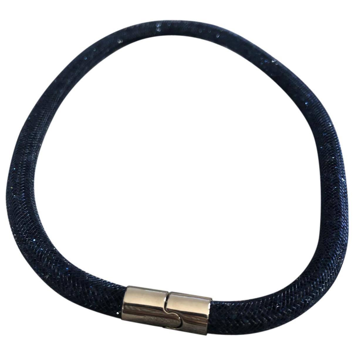 Swarovski - Bracelet Stardust pour femme en metal - bleu