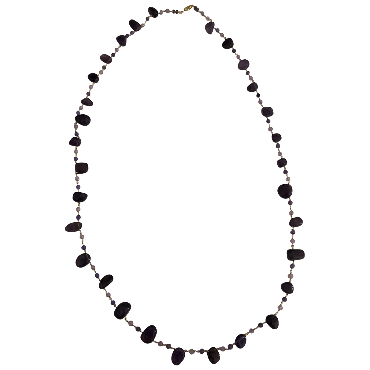 Collar Amethyste Non Signe / Unsigned