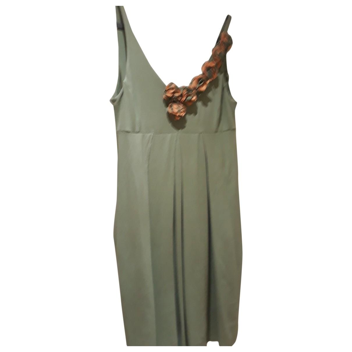 Twin Set \N Kleid in  Gruen Viskose