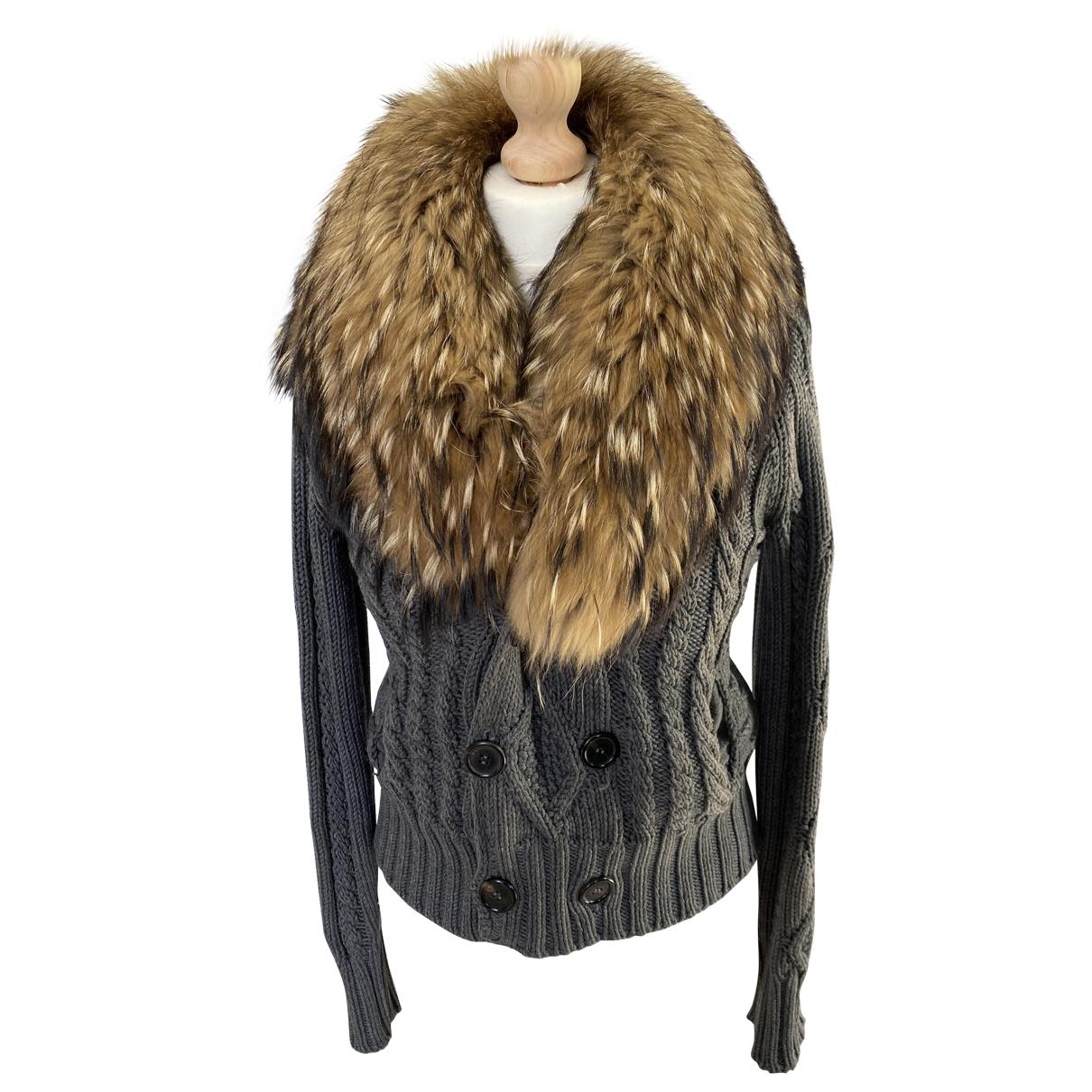 Dsquared2 N Grey Wool jacket for Women 36 FR