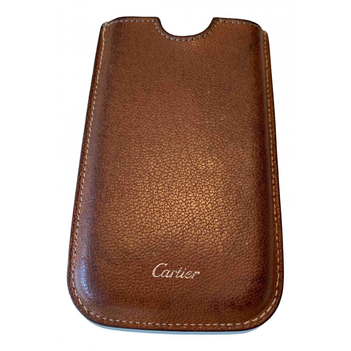 Cartier \N Brown Leather Accessories for Life & Living \N
