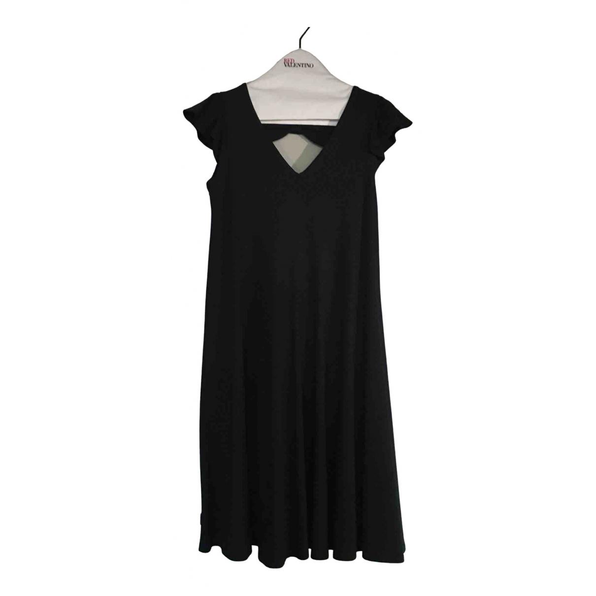 Red Valentino Garavani \N Kleid in  Marine Baumwolle - Elasthan